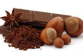 Avelã coberta de chocolate 70% cacau - a granel