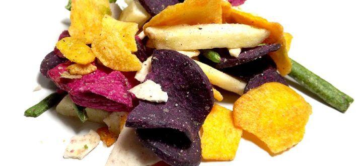 Mix de chips de legumes a granel