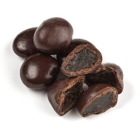 Uva passa coberta com chocolate 70% cacau a granel