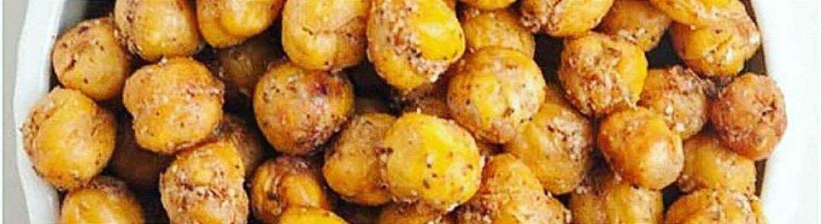 Snack de grão de bico torrado a granel