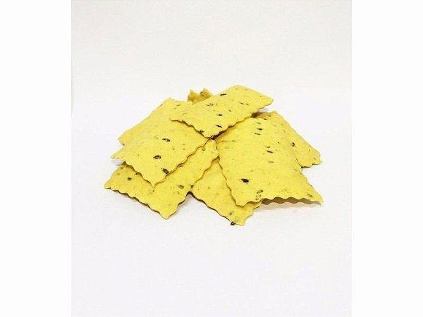 Biscoito integral de linhaça - a granel