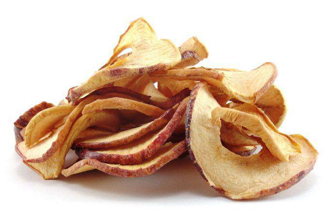 Chips de maçã desidratada - a granel