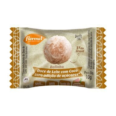 Bolinha Doce de Leite com Coco Zero açúcar
