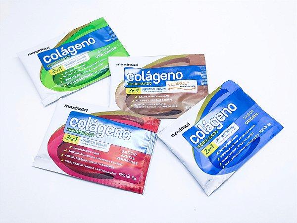 Colágeno Maxinutri Sabores - sachê 10g