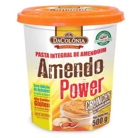 Pasta de Amendoim Crunchy - Dacolonia
