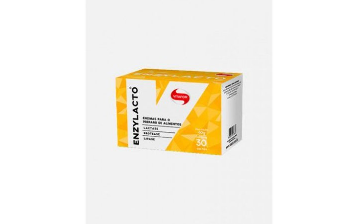 Enzimas Digestivas Enzylacto Vitafor Sachês De 2g