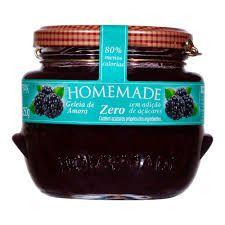 Geleia Homemade Zero Açúcar - Amora