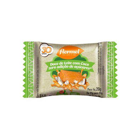 Doce de Leite com Coco Zero Adição de Açúcar- Flormel 20g