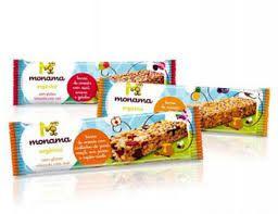 Barrinha de Cereal Orgânica Monama Saudável - 25 g
