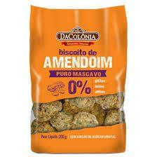 Biscoito de amendoim DaCOLÔNIA Puro Mascavo 200 g