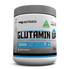 Glutamina Up Zero Açucar/Glúten 300g Nutrata