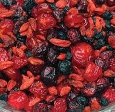 Mix de frutas vermelhas desidratadas - a Granel