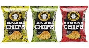 Banana Chips BIOCHIPS 55g