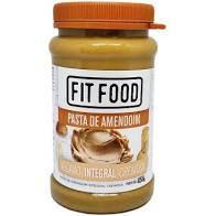 Fit Food Pasta Amendoim Vegano Integral Cremosa 450gr