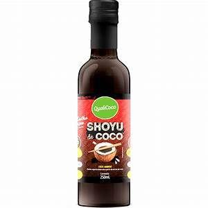 Shoyu de Coco 250 ml - Qualicoco