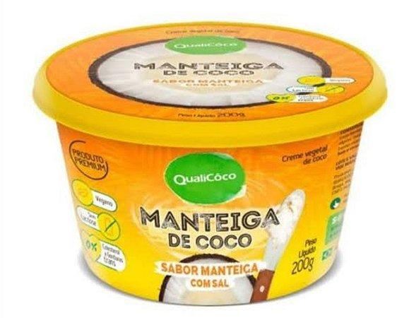 MANTEIGA QUALICOCO 200G C/SAL