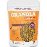 Granola Salgada com Alecrim e Cúrcuma MONAMA 200 g