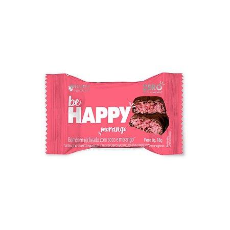 Bombom Be Happy Morango 18g
