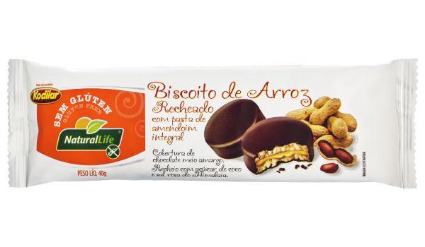 Biscoito de Arroz Sem Glúten Kodilar