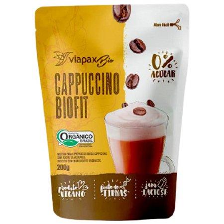 Cappuccino Biofit Orgânico Zero Açúcar 200g - Viapax Bio