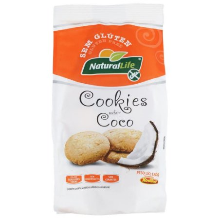 Cookie sem Glúten 180g - Natural Life