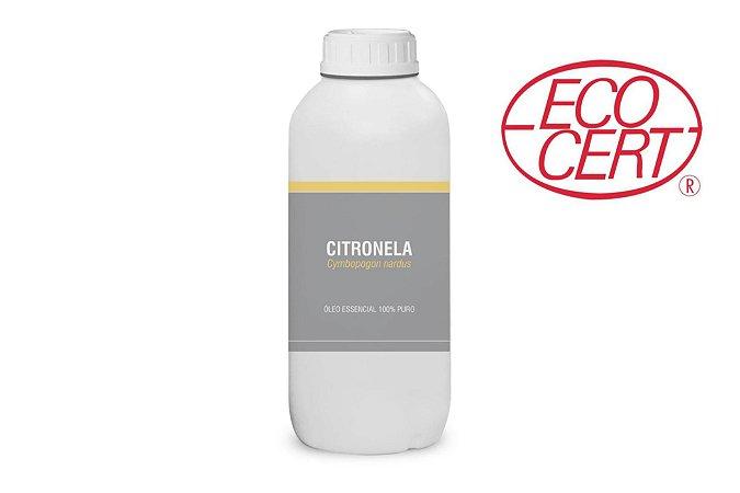 500mL Óleo essencial de Citronela (Cymbopogon nardus) ORGÂNICO