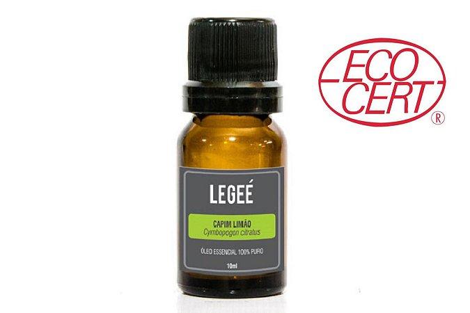 Óleo essencial de Capim Limão (Cymbopogon citratus) ORGÂNICO