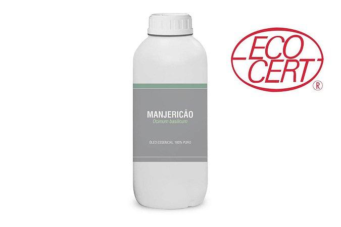 1L Óleo essencial de Manjericão (Ocimum basilicum Qt Linalol) ORGÂNICO