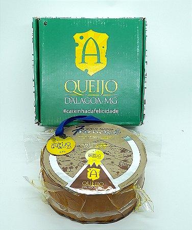 Queijo Alagoa Fumacê (1kg) | Único queijo de Alagoa Premiado com Ouro em Araxá (2019)