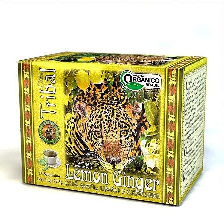 Chá Tribal Erva Mate Lemon Ginger - sachê