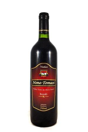Vinho Nono Tomasi Tinto de Mesa Suave 750ml