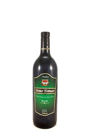 Vinho Tinto de Mesa Seco Nono Tomasi