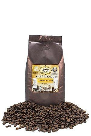 Café Mandu em Grãos -100% Arábica - produto artesanal - 1Kg