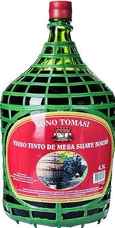 Garrafão de Vinho Nono Tomasi Tinto Bordô