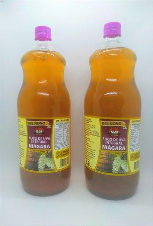 Suco de Uva Niágra Integral Del Nono 1,5 litros