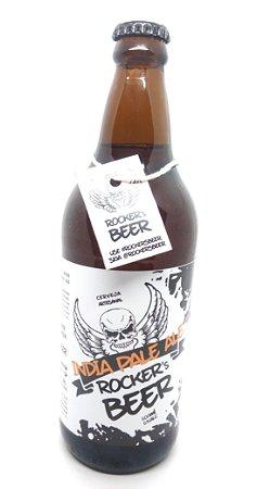 Cerveja Artesanal Rocker´s Beer IPA (Indian Pale Ale) 600ml