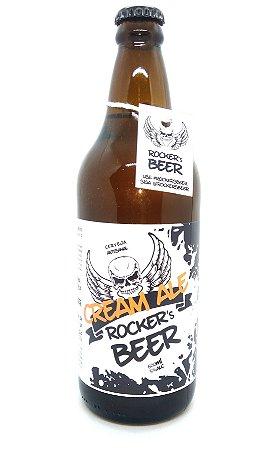 Cerveja Artesanal Rocker´s Beer - Cream Ale - 600ml (produzida em Itatiba/SP)