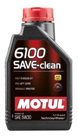 MOTUL 6100 5w30 C2 Save Clean Óleo Para Motor
