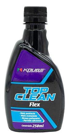 KOUBE Top Clean Flex Aditivo Combustível para Limpeza dos Bicos 250ml