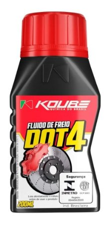 KOUBE DOT 4 200ml Fluído de Freio