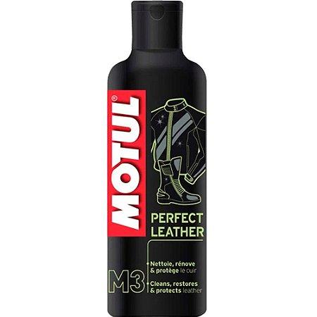 Motul M3 Limpa Nutre Revitaliza O Couro Perfect Leather 250ml