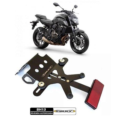 SUP0025 Suporte De Placa Eliminador Rabeta Oxxy Yamaha MT 07 MT-07