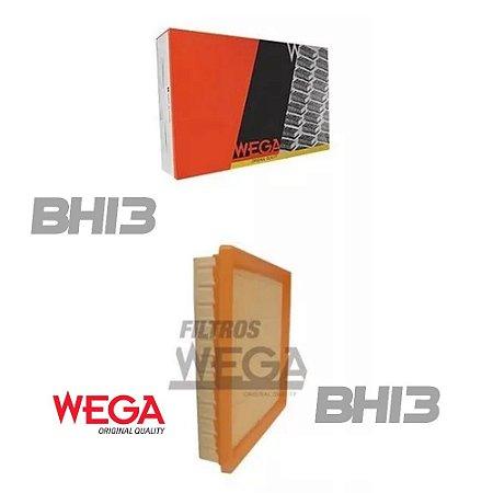 WEGA FAP9066 Filtro de Ar BMW 320i 2.0 16v Flex 2013 A 2014