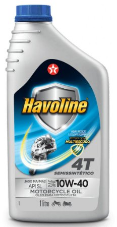 Havoline 10w40 Texaco Óleo Motor 4T Semissintético