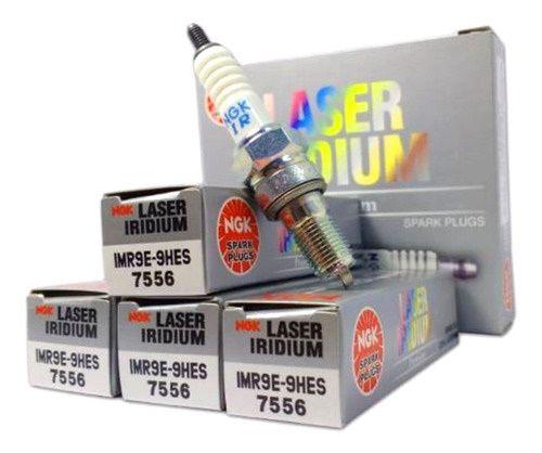 NGK IMR9E9HES Jogo 4 Velas Ngk Iridium Honda Cb1000r Desde 2008 IMR9E-9HES