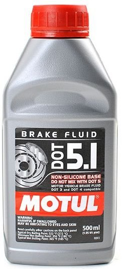 DOT 5.1 BRAKE FLUID Motul Fluido de Freio