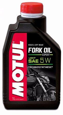Fork Oil Expert Light 5w Óleo Suspensão Para Motos Motul