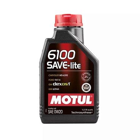 0w20 Motul 6100 Save-lite Sintético