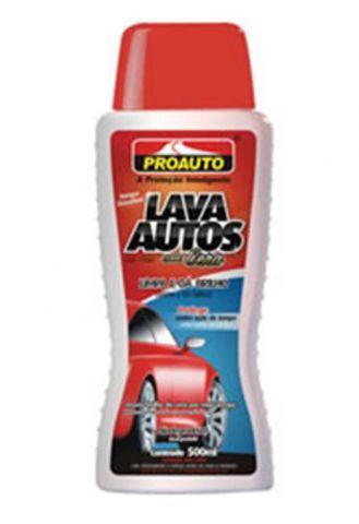 Lava Autos com Cera 500ml Proauto Com Carnaúba