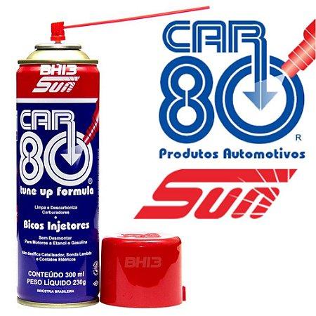 Descarbonizante CAR80 Limpa Bico e Carburadores